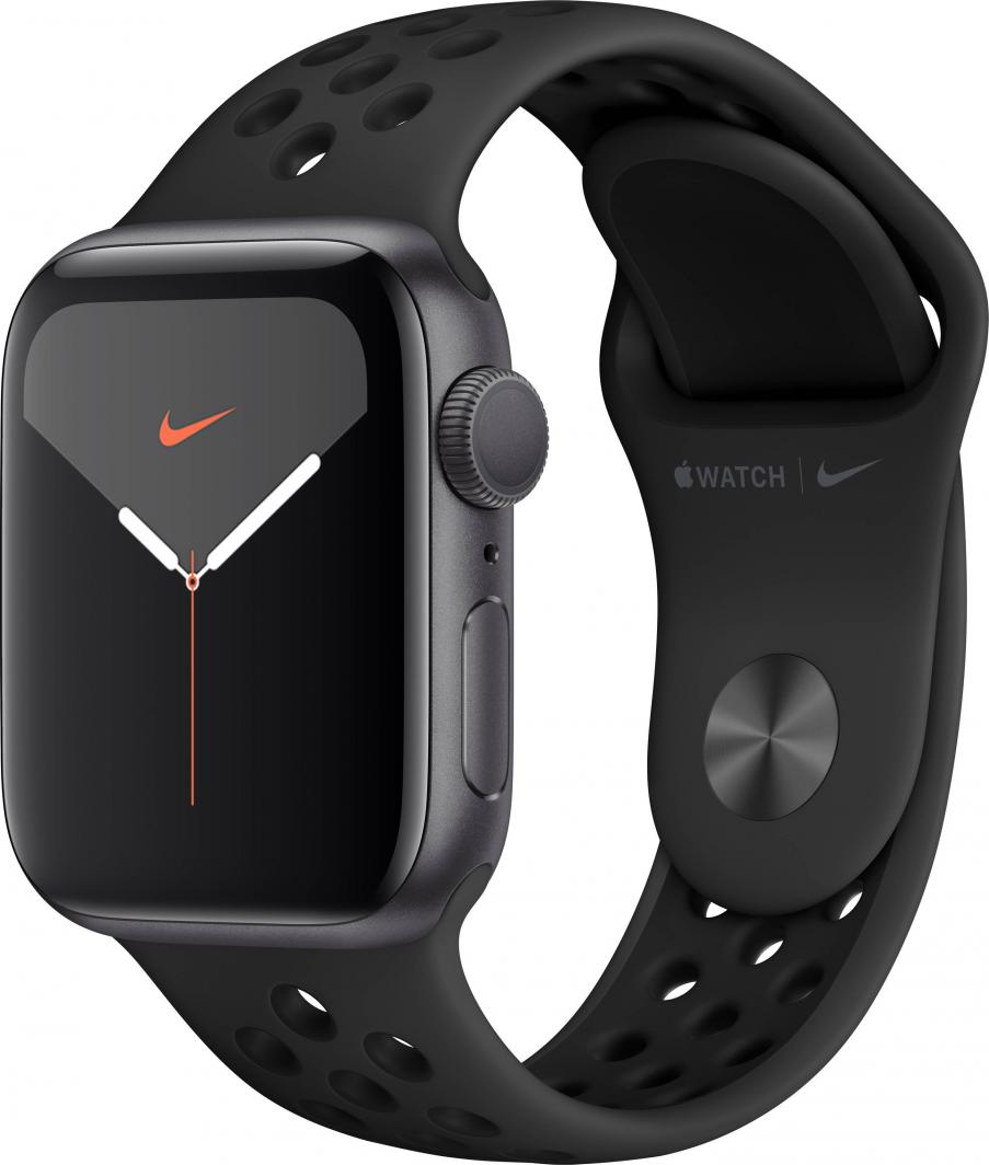 Smartwatch Apple Watch Nike Series 5 GPS 40mm Grey Alu Czarny  (MX3T2FD/A) 1