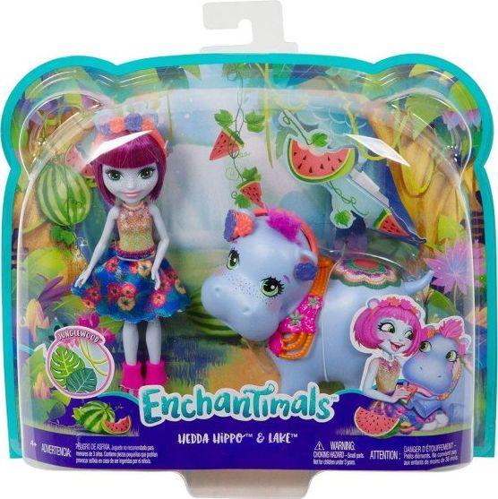 Mattel Enchantimals Theme Pack Hedda Hip (GFN56) 1