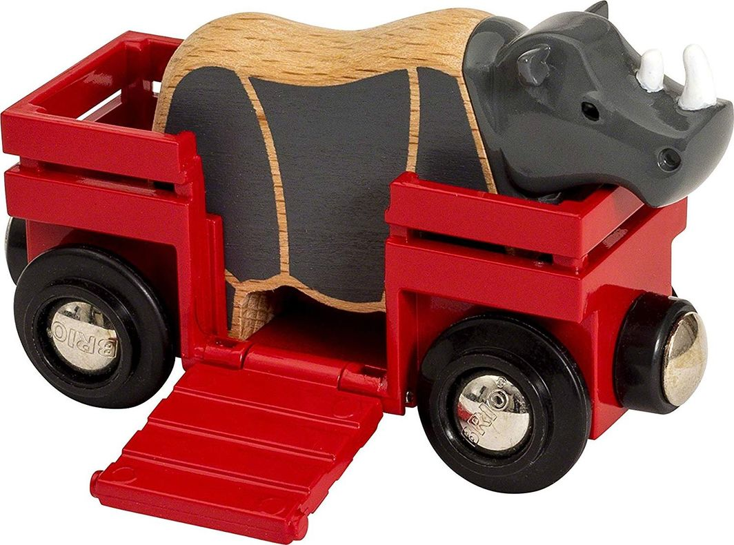 Brio Animal Wagon Rhino (33968) 1
