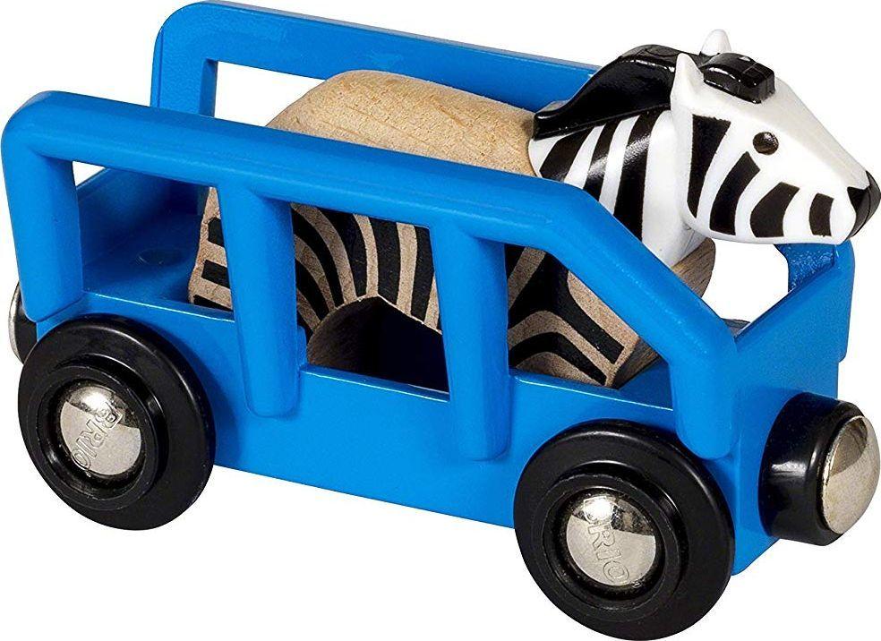 Brio Animal Wagon Zebra (33967) 1