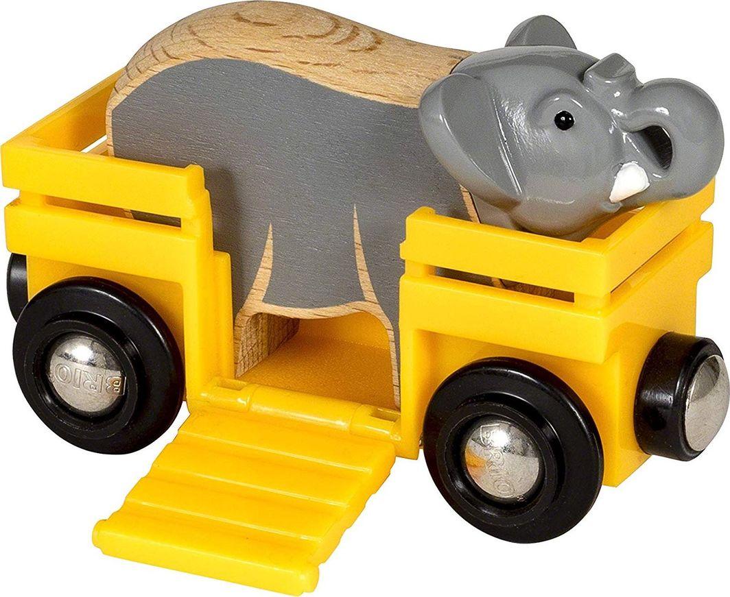 Brio BRIO Animal Wagon Elephant - 33969 1
