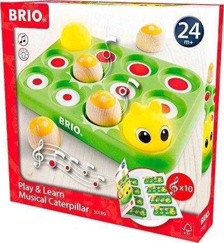 Brio BRIO Music Game Caterpillar - 30189 1