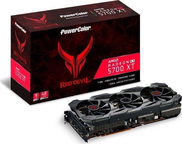 Karta graficzna Power Color Radeon RX 5700 XT Red Devil 8GB GDDR6 (AXRX 5700XT 8GBD6-3DHE/OC) 1