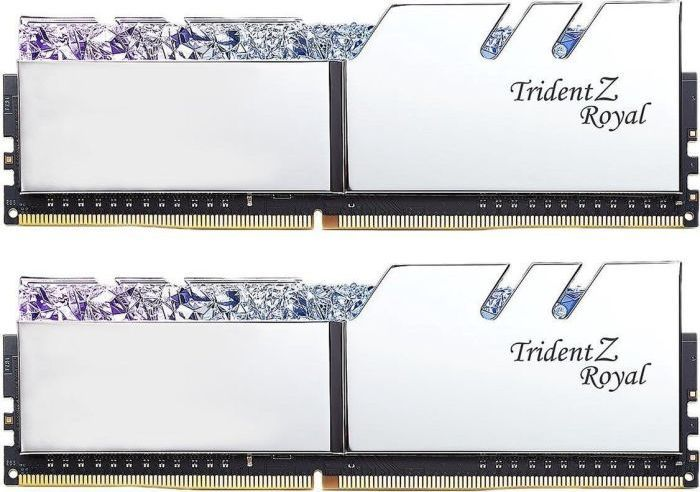 Pamięć G.Skill Trident Z Royal, DDR4, 32 GB, 3600MHz, CL16 (F4-3600C16D-32GTRSC) 1