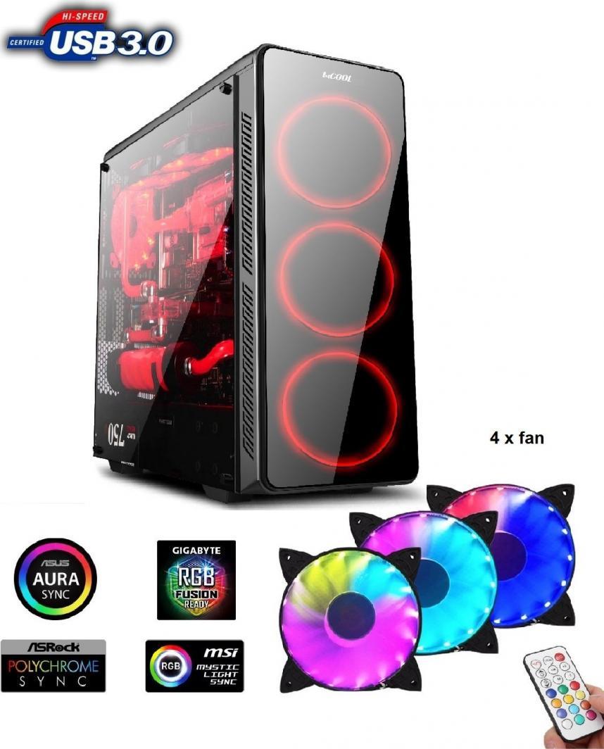 Obudowa 1stCOOL Gamer 3 Aura ARGB (ML-GAMER3-ARGB) 1