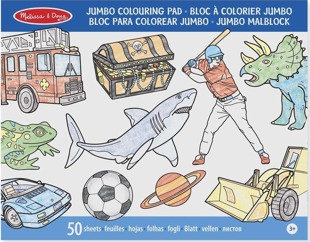 Jumbo Kolorowanka Męskie Sprawy 50 1