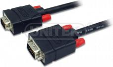 Kabel Unitek D-Sub (VGA) - D-Sub (VGA) 15m czarny (Y-C507) 1