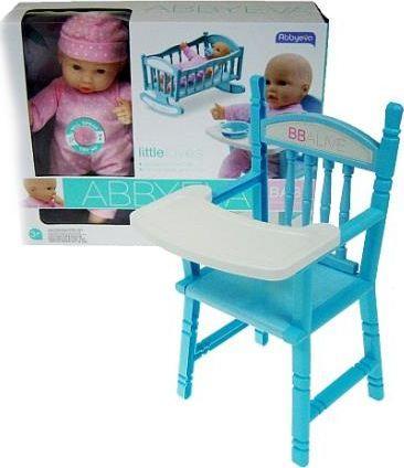 Hipo Lalka 26cm krzesełko 12 dźwięków (HDE06) 1