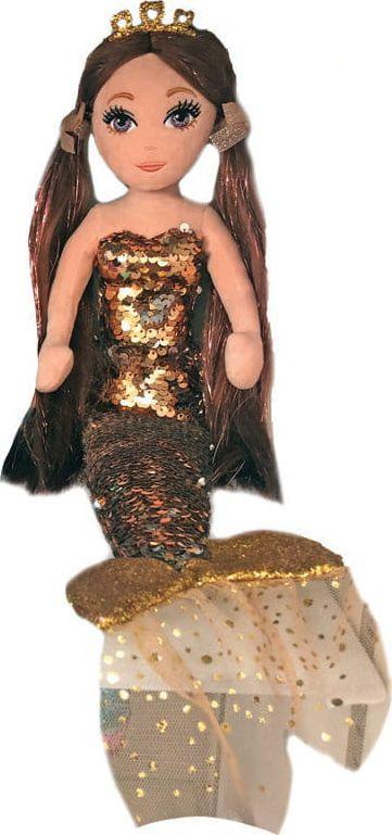 TY Mermaids Ginger cekinowa brązowa syrenka (02104) 1