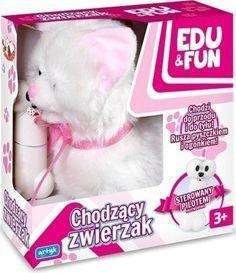 Artyk Chodzący kotek Edu&Fun biały 1