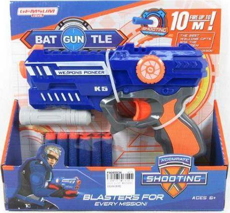 Big Toys Pistolet pociski z pianki (BBRO4960) 1