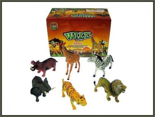 Hipo Zwierzęta dzikie 20cm 6 wzorów 1