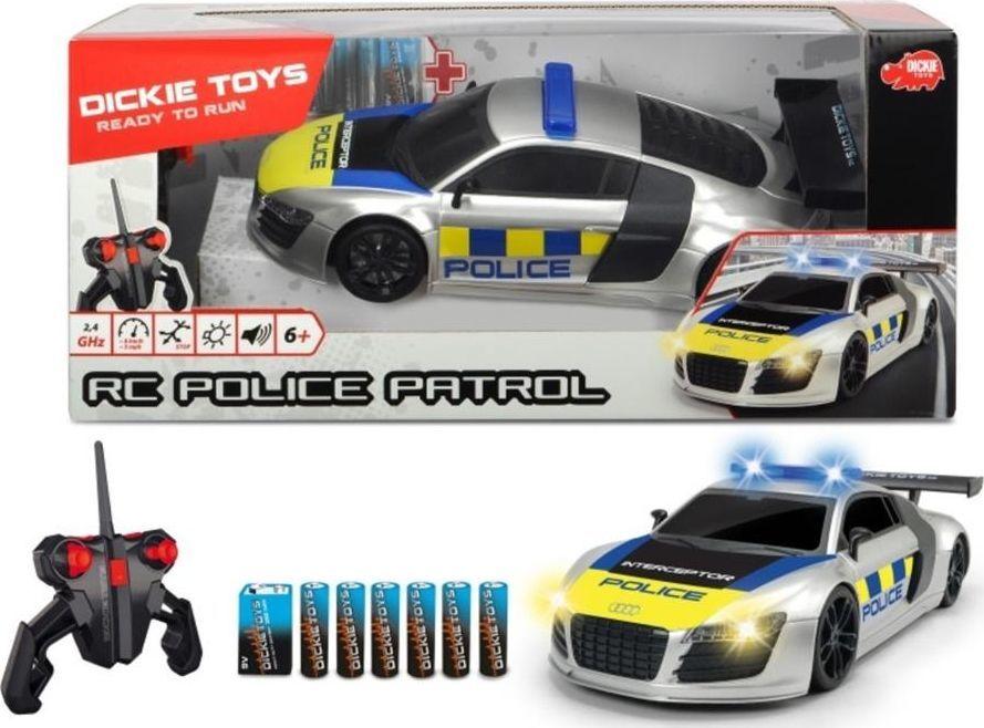 Dickie Auto na radio Police Patrol 28cm DICKIE 1