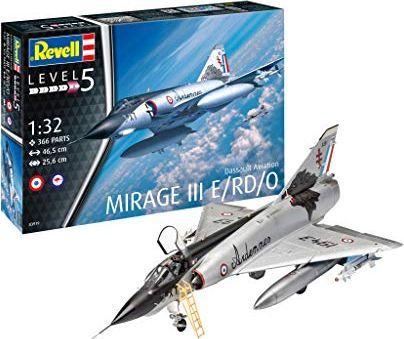 Revell PROMO Samolot REVELL 03919 Mirage III E/RD/0 1