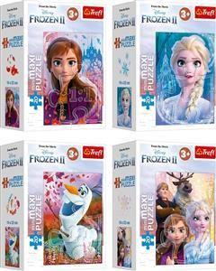 Trefl Puzzle 20 elementów Przyjaźń w Krainie Lodu Disney Frozen 2 1