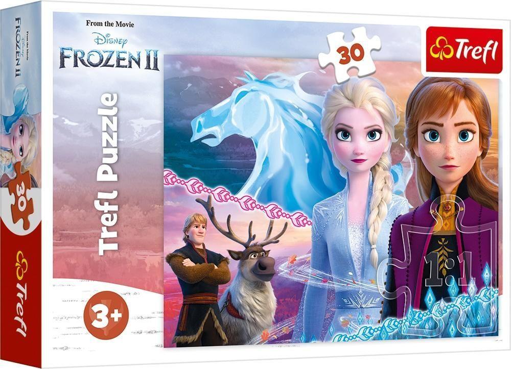 Trefl Puzzle 30 elementów Odwaga sióstr 1