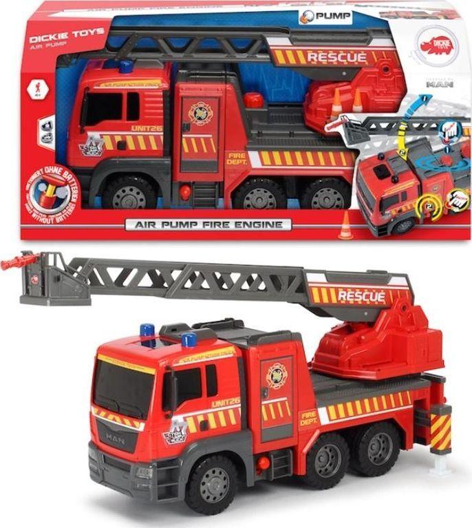 Dickie SOS Straż pożarna MAN 54cm 1