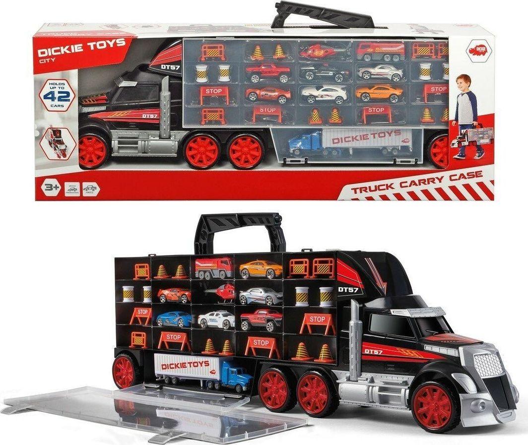 Dickie Ciężarówka i walizka 2w1 1