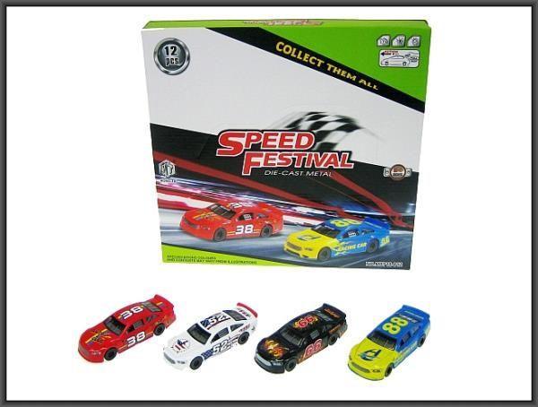 Hipo Auto sportowe 10,5cm 4 kolory (HXDS48) 1