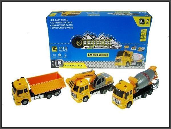 Hipo Ciężarówka budowlana 3 wzory 20cm (HXAT16) 1