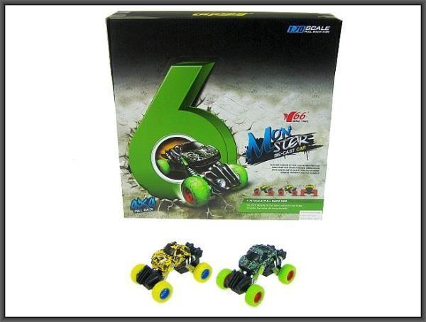 Hipo Auto na sprężynkach 10cm 2 kolory (HXFC73) 1