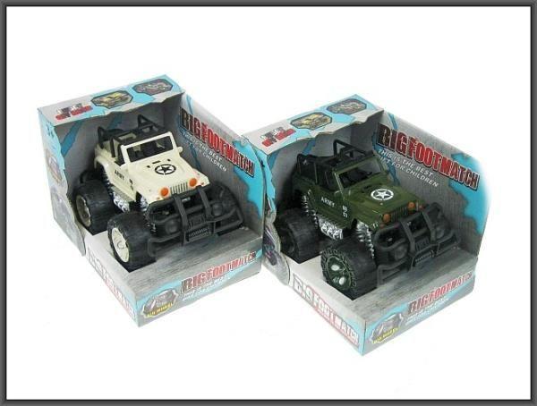 Hipo Auto terenowe military 18cm w pudełku (H12703) 1