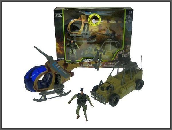Hipo Pojazd wojskowy helikopter w pudełku (6640A) 1