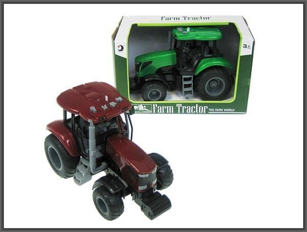 Hipo Traktor 20cm z dźwiękiem w pudełku (HFT04) 1