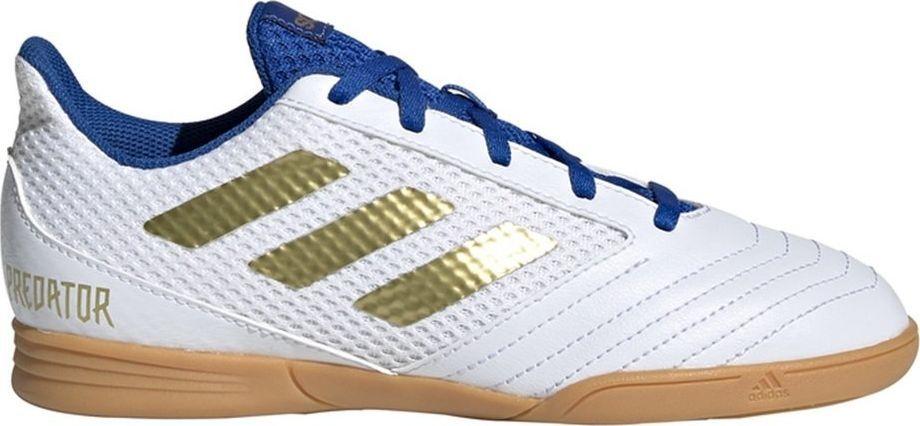 Adidas Buty piłkarskie adidas Predator 19.4 IN Sala Junior biało niebieskie EG2829 31 ID produktu: 6358938