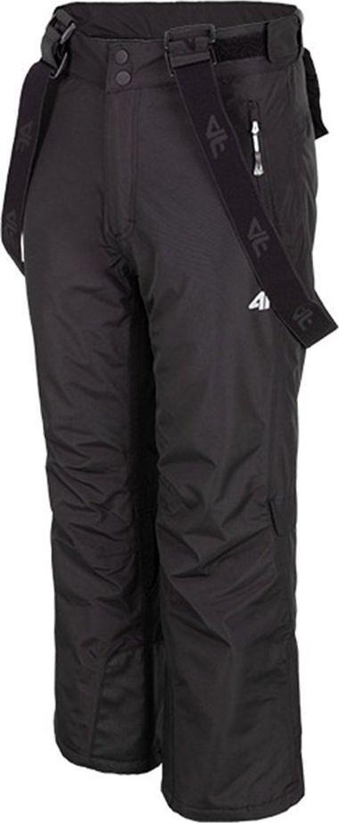 4f Spodnie dziecięce HJZ19 JSPMN001 czarne r. 140 ID produktu: 6359212