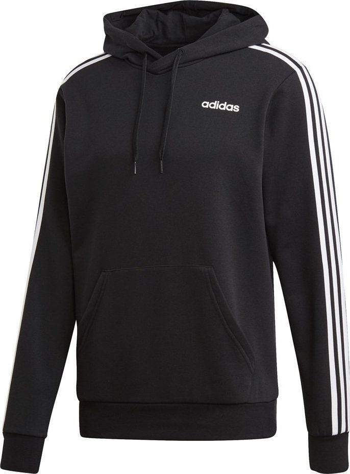 Adidas Bluza męska Essentials 3 Stripes Pullover French Terry czarna r. XL (DU0498) ID produktu: 6359475