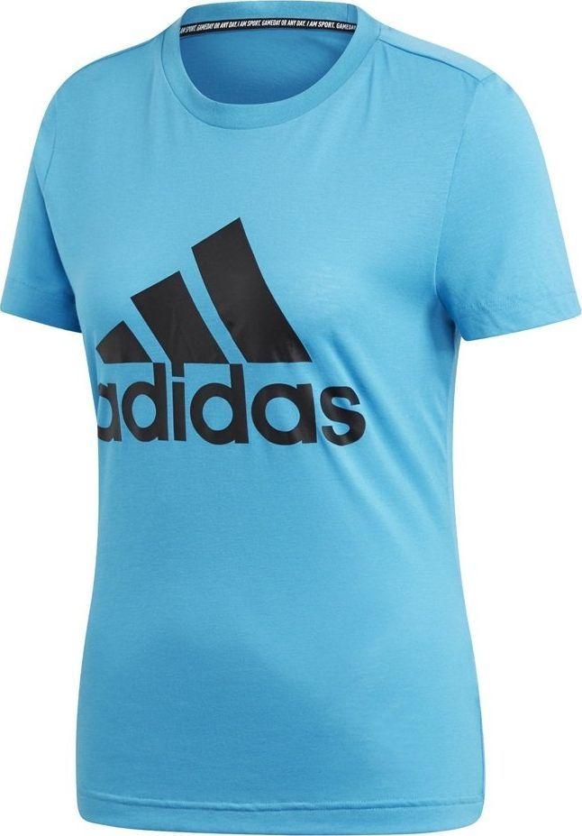 Adidas Koszulka damska Women's Must Haves Bos Tee niebieska r. XL (DZ0015) ID produktu: 6366313