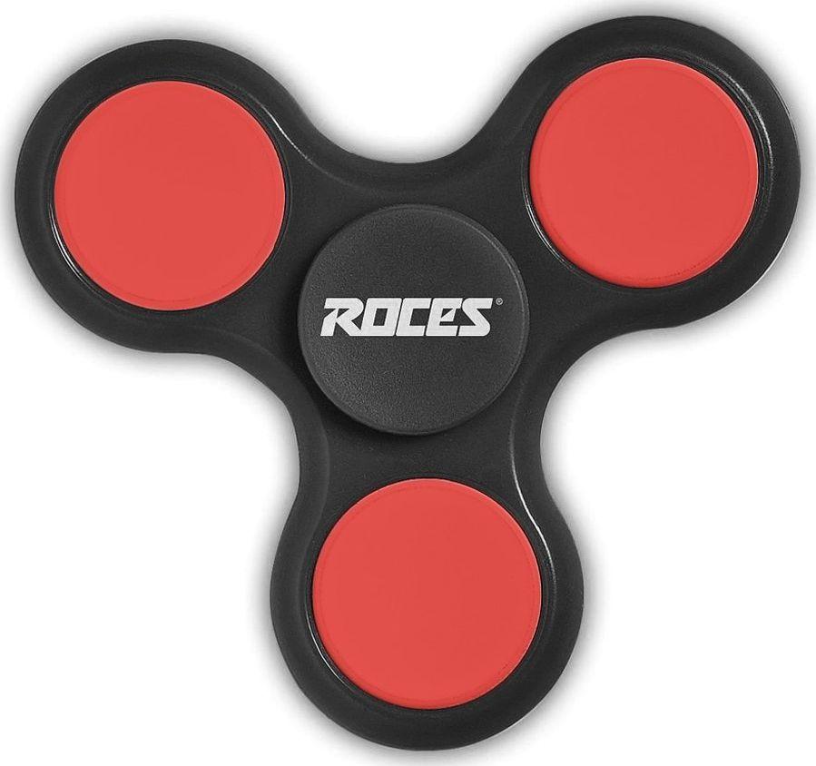 ROCES FIDGET SPINNER ROCES czarno-czerwony 30596 02 uniwersalny 1