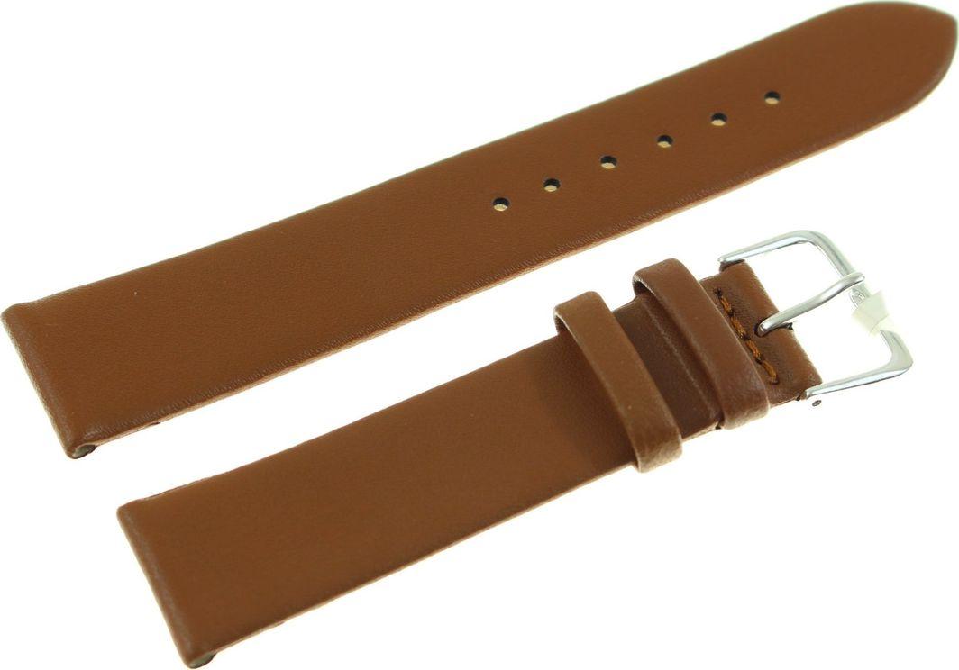 JVD Skórzany pasek do zegarka 20 mm JVD R14903-20 uniwersalny 1