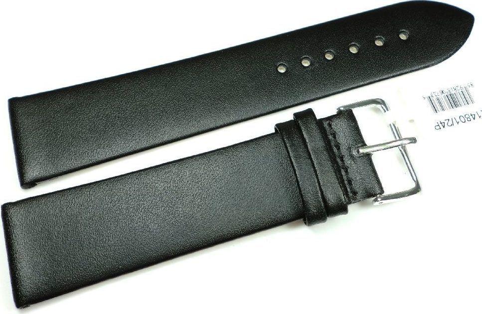 JVD Skórzany pasek do zegarka 24 mm JVD R14801-24P XL uniwersalny 1
