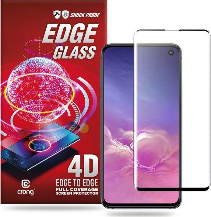 Crong Crong Edge Glass Szkło full glue na ekran Samsung Galaxy S10e 1