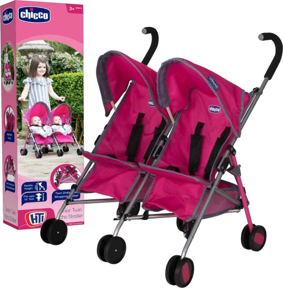 Chicco Chicco Wózek spacerówka dla lalek bliźniaków uniwersalny 1