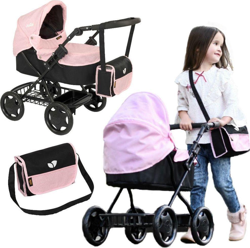 HTI Joie Głęboki wózek dla lalek gondola i torba uniwersalny 1