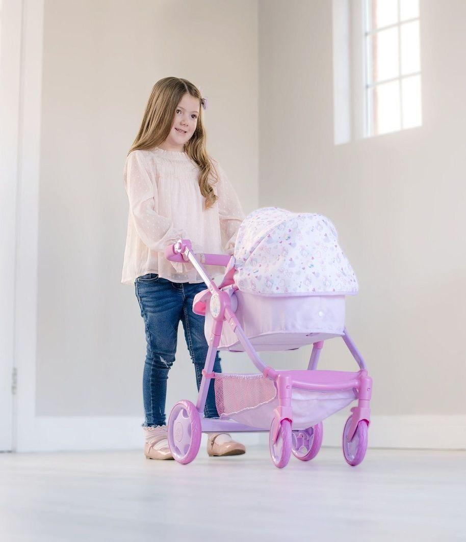HTI HTI Baby Born Wózek wielofunkcyjny 6w1 uniwersalny 1