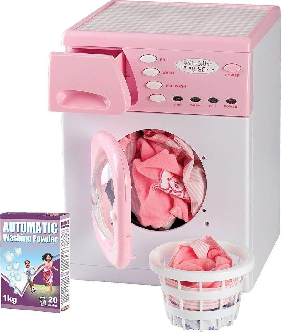 Casdon Casdon 621 Zabawkowa elektroniczna pralka różowa uniwersalny 1