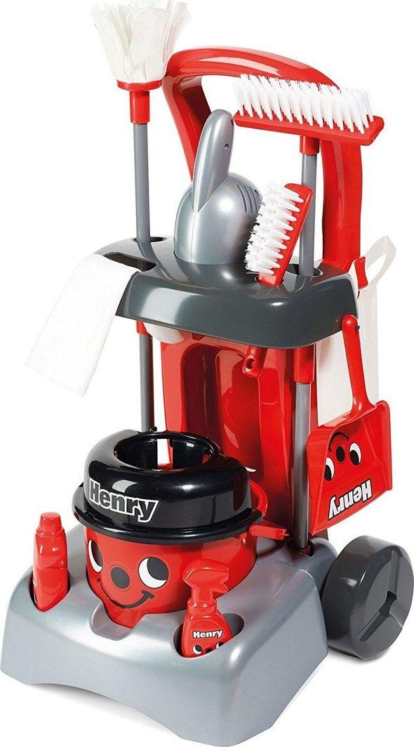 Casdon Casdon 674 Zestaw do sprzątania Henry Deluxe z odkurzaczem i mopem uniwersalny 1