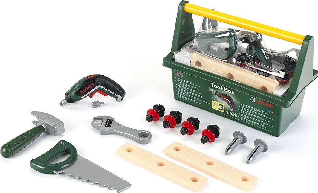 Klein Skrzynka z narzędziami z wkrętarką Bosch światło dźwięki 1