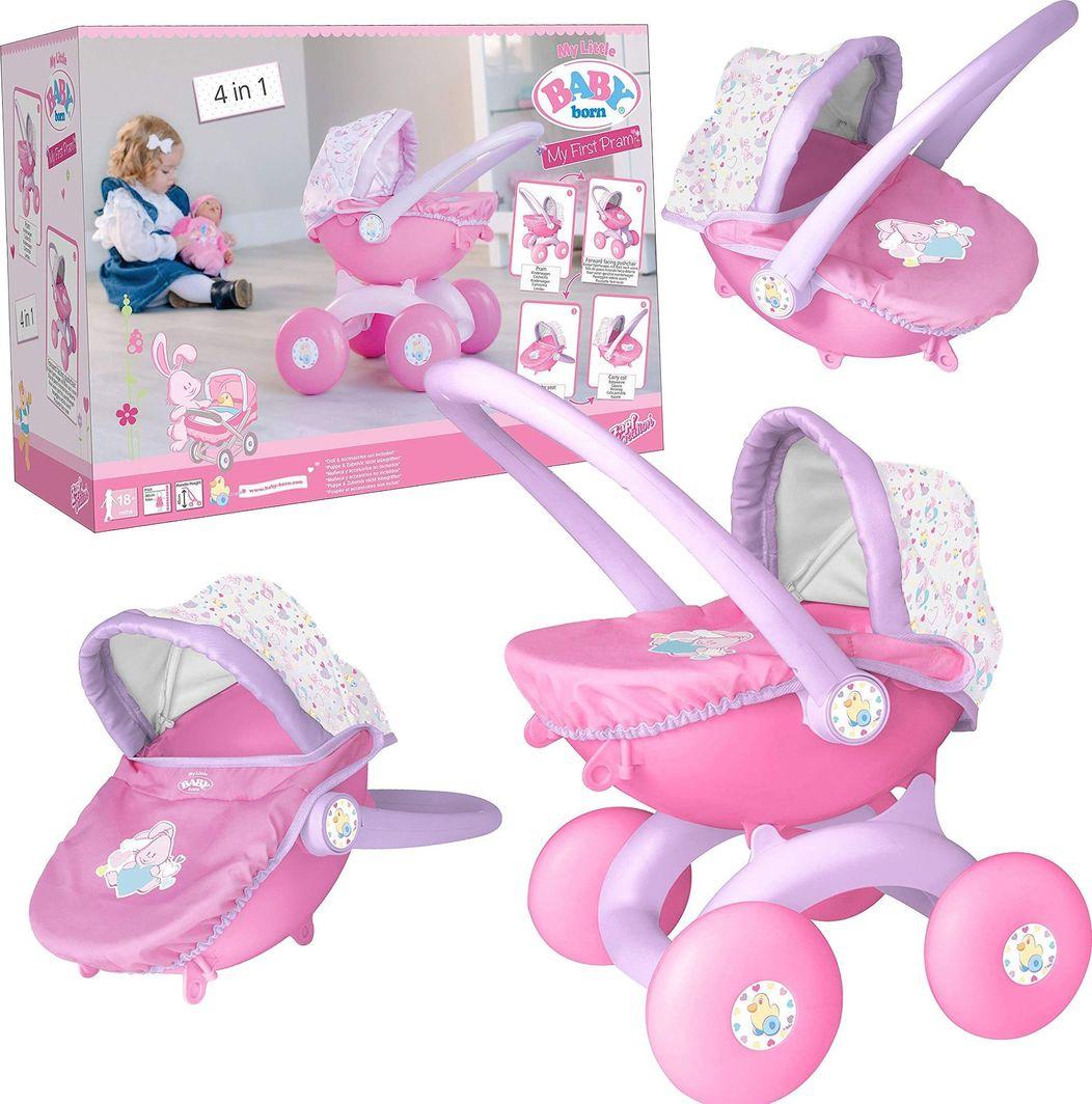 HTI Mój pierwszy wózek Baby Born 4w1  1