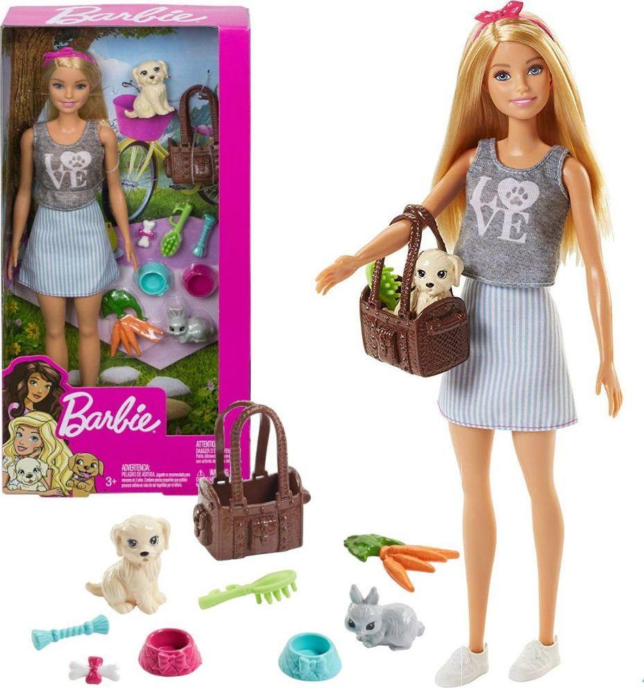 Mattel Barbie Lalka ze zwierzątkami (FPR48) 1
