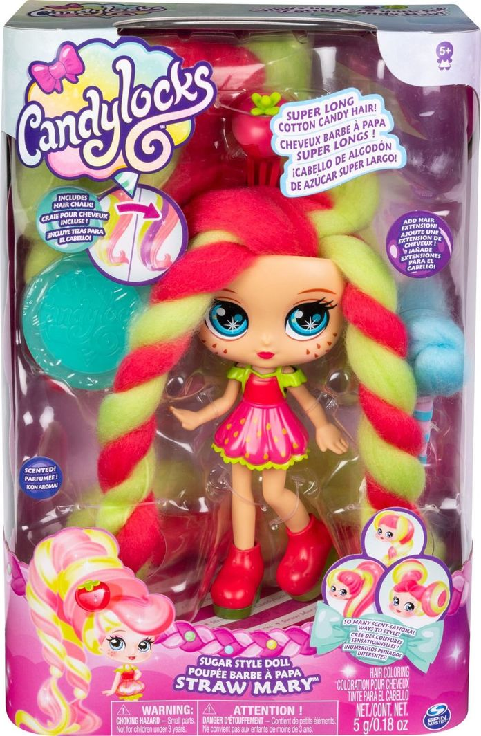 Spin Master CandyLocks Lalka Straw Mary 1