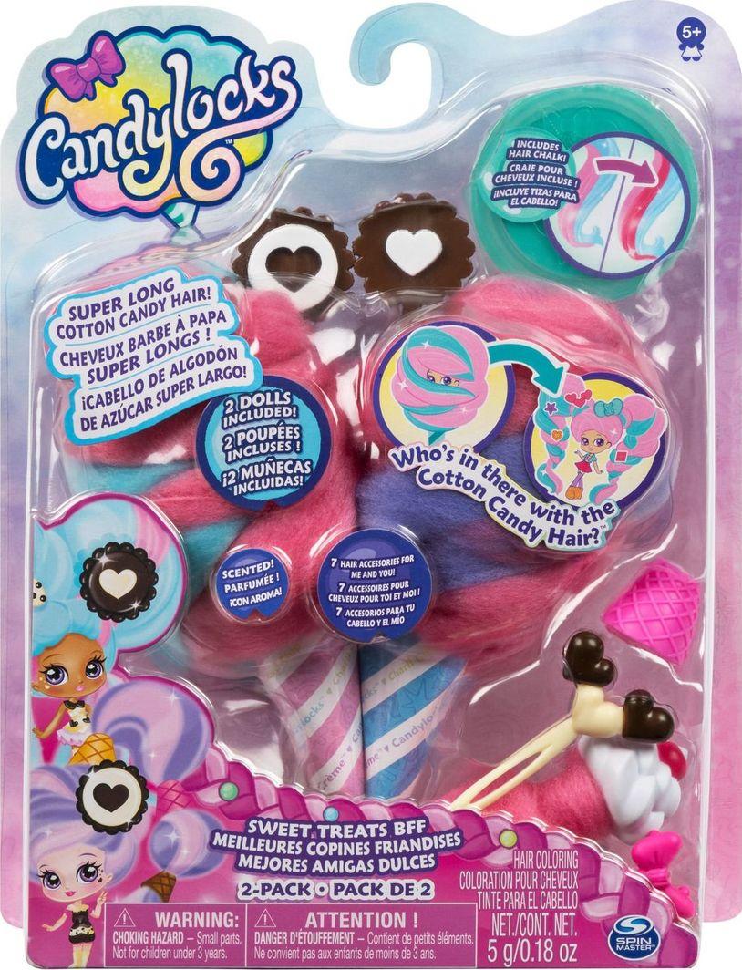 Spin Master CandyLocks 2 laleczki pachnące włosy Sweet Treats 1