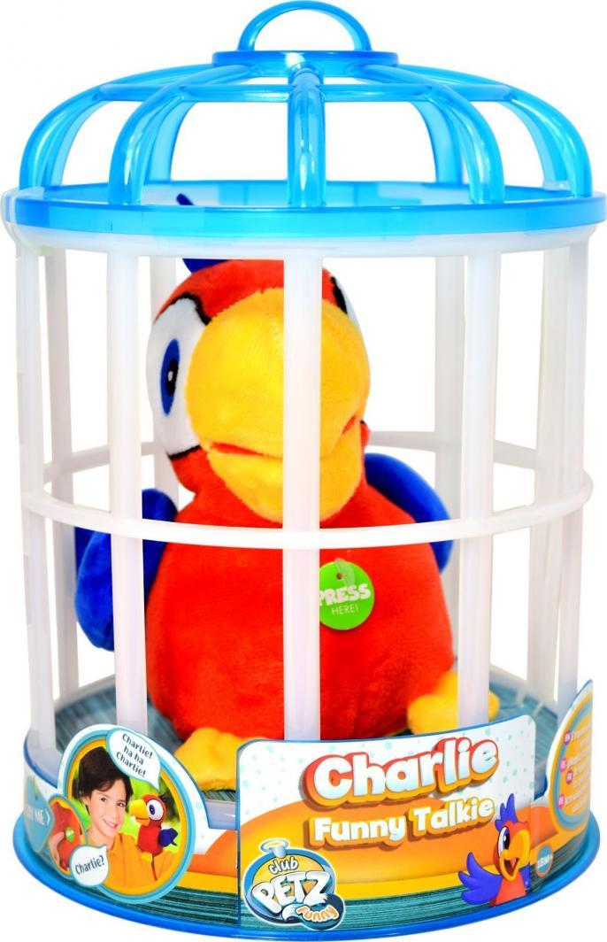 Imc Maskotka interaktywna Papuga Charlie czerwona 1