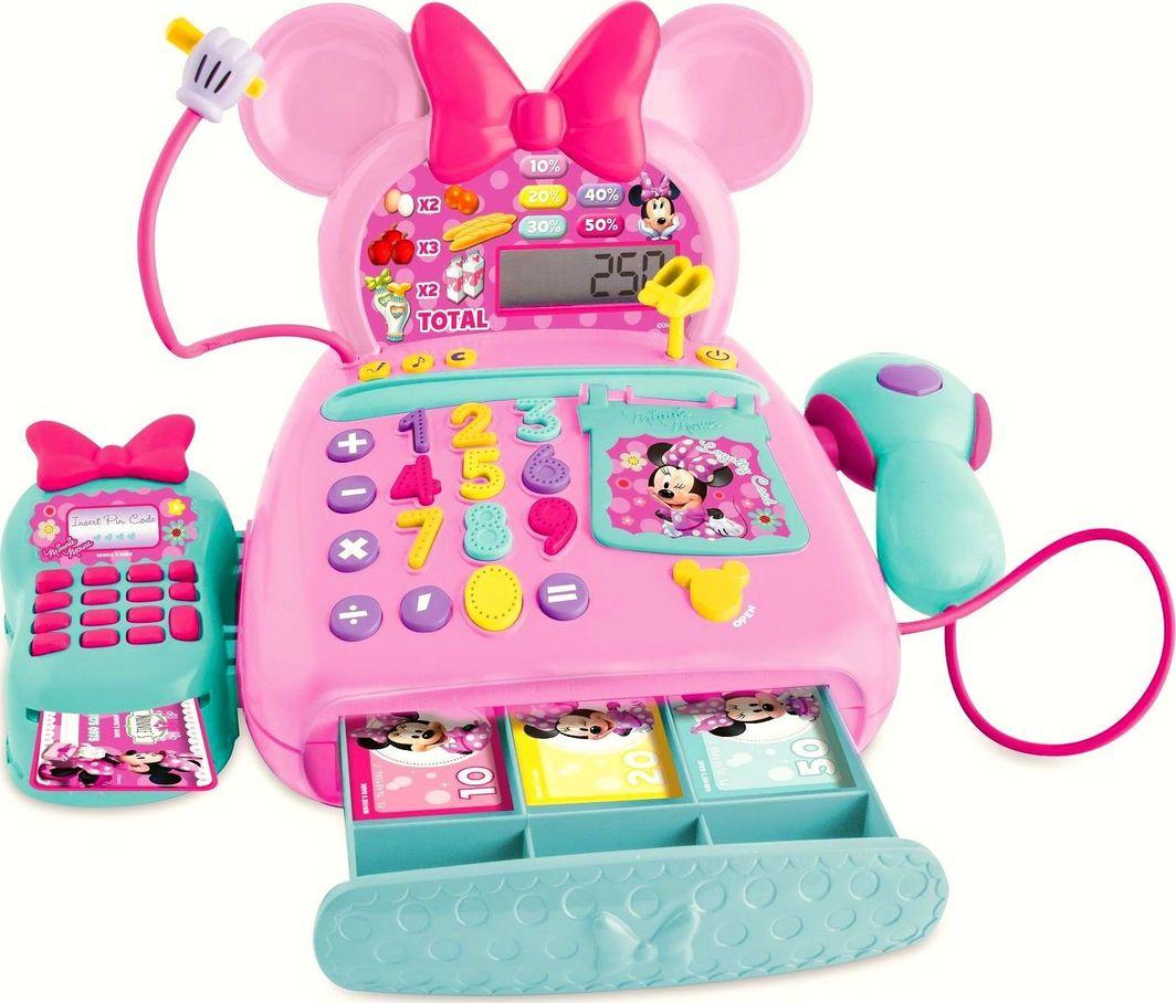 Imc Elektroniczna kasa Myszki Minnie z kalkulatorem uniwersalny 1