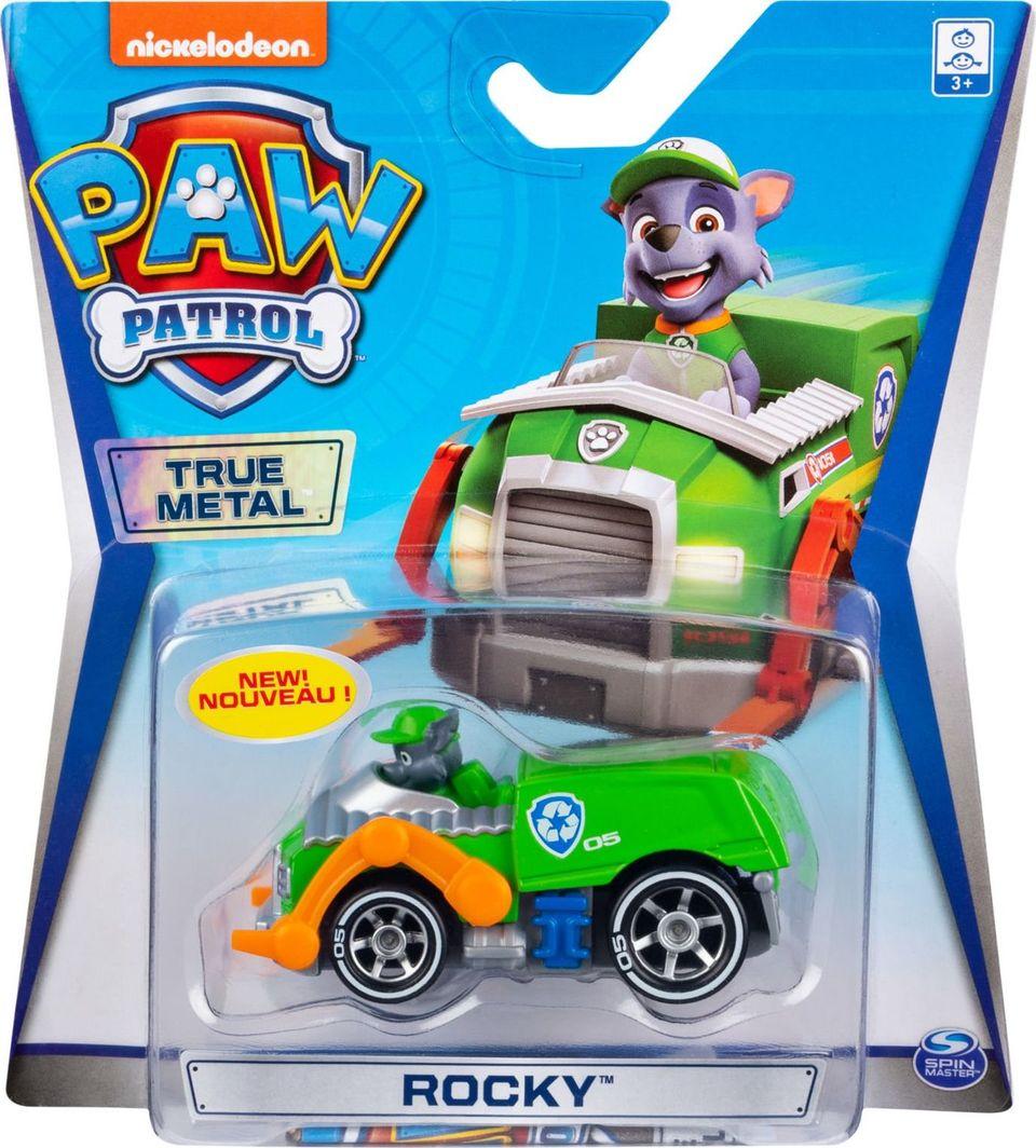 Spin Master Psi Patrol samochodzik metalowy Rocky 1