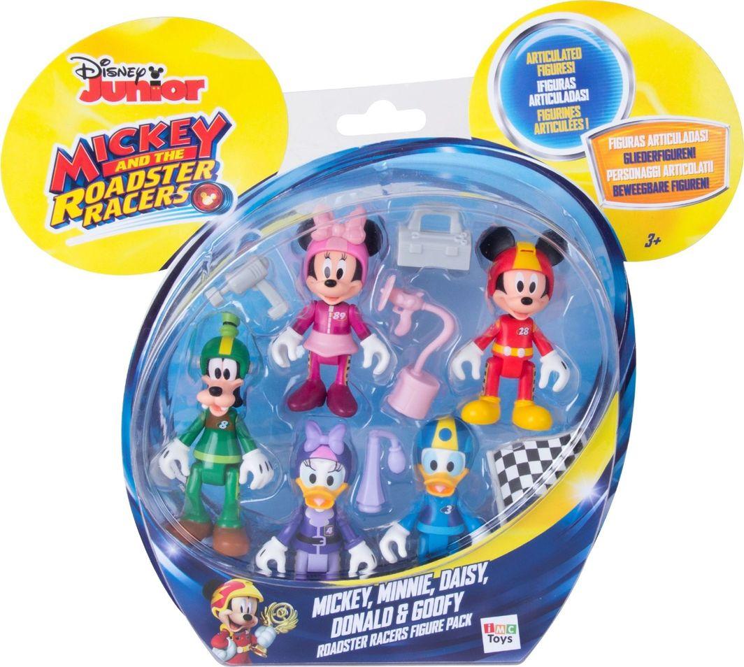 Imc Disney Myszka Minnie Mickey Miki Zestaw 5 figurek z akcesoriami 1
